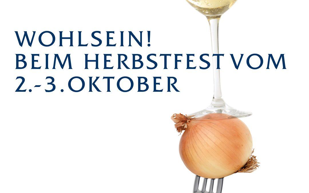 """Herbstfest"" 2. – 3. Oktober 2021"